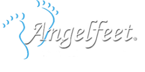 Angel feet logo