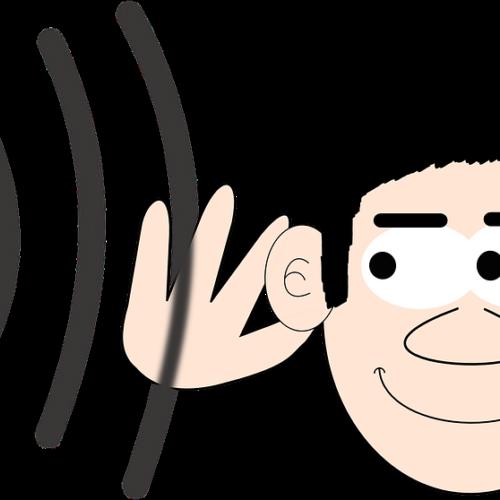 listening comic